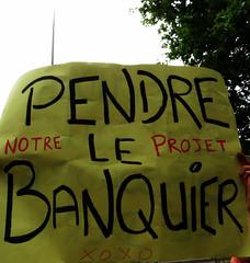 notre projet : pendre le banquier.. xoxo