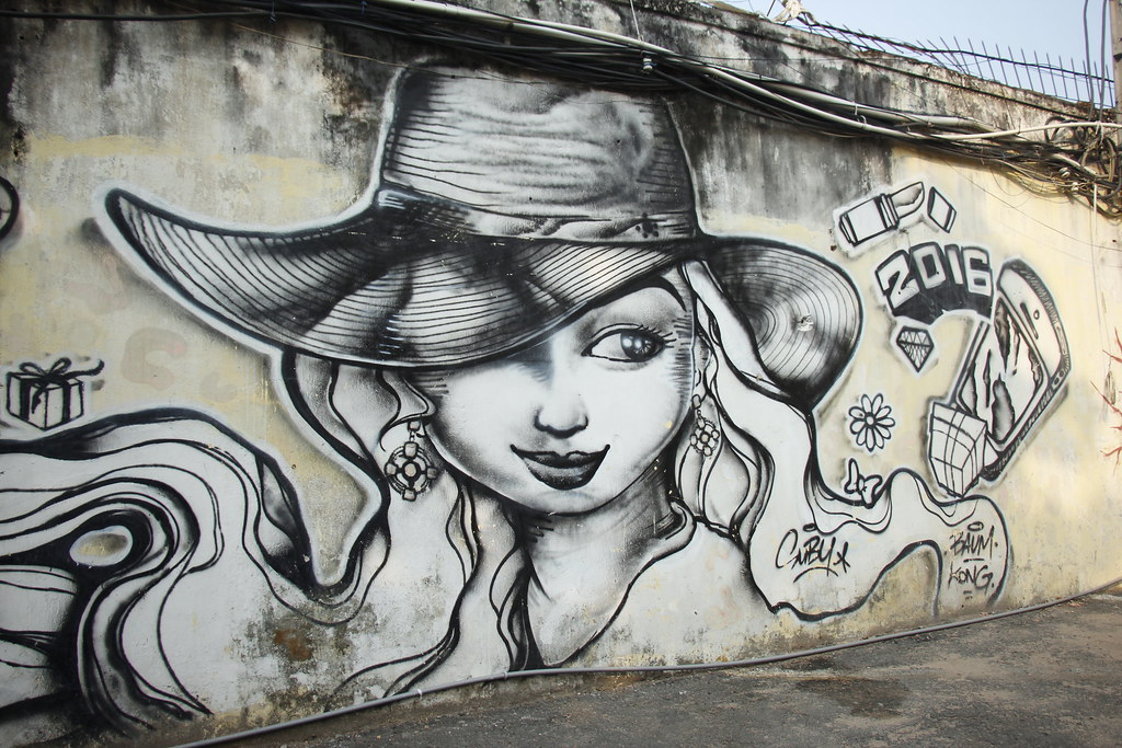 se street art i Ho Chi Minh City/saigon