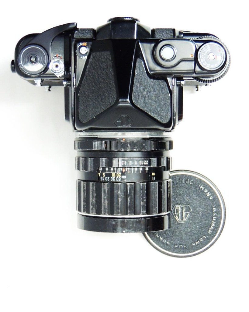 Treat yourself to the Pentax 6x7 MLU with metered prism an… | Flickr
