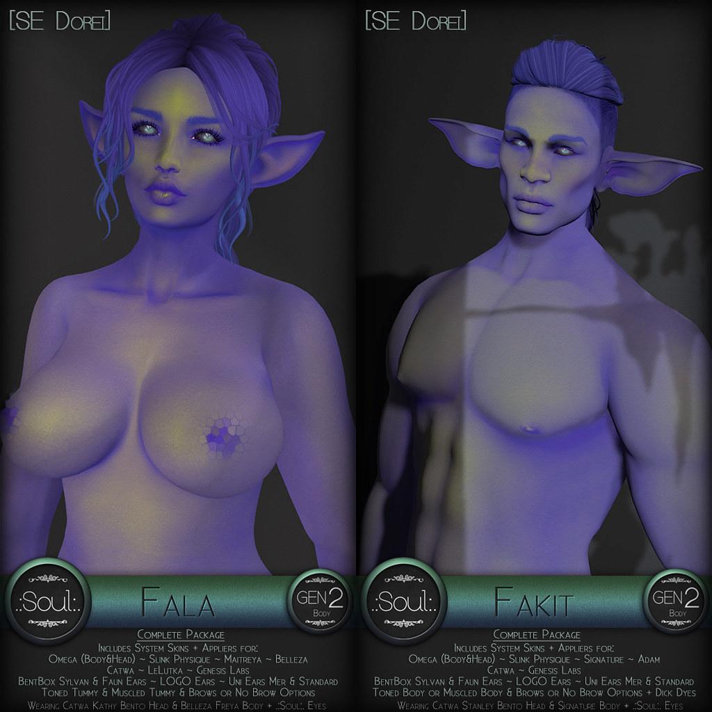 .:Soul:. Gen2 - Fala & Fakit [SE Dorei] - SecondLifeHub.com