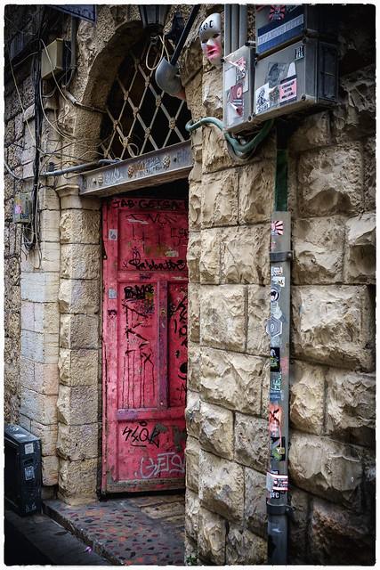 Shimon Ben Shatakh Street, Fujifilm X-E1, XF27mmF2.8
