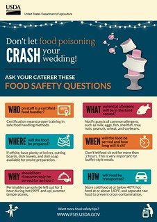 Wedding Food Safety - Questions to Ask your Caterer
