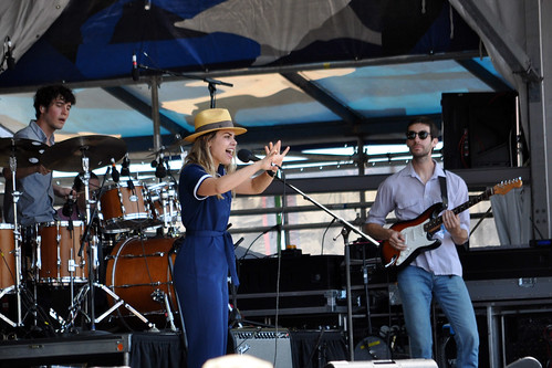 Maggie Koerner on the Gentilly Stage at Jazz Fest