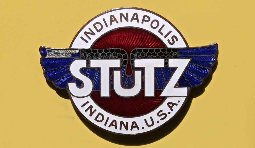 Radiator Emblem 1915 Stutz Bearcat Bill Jacomet Flickr