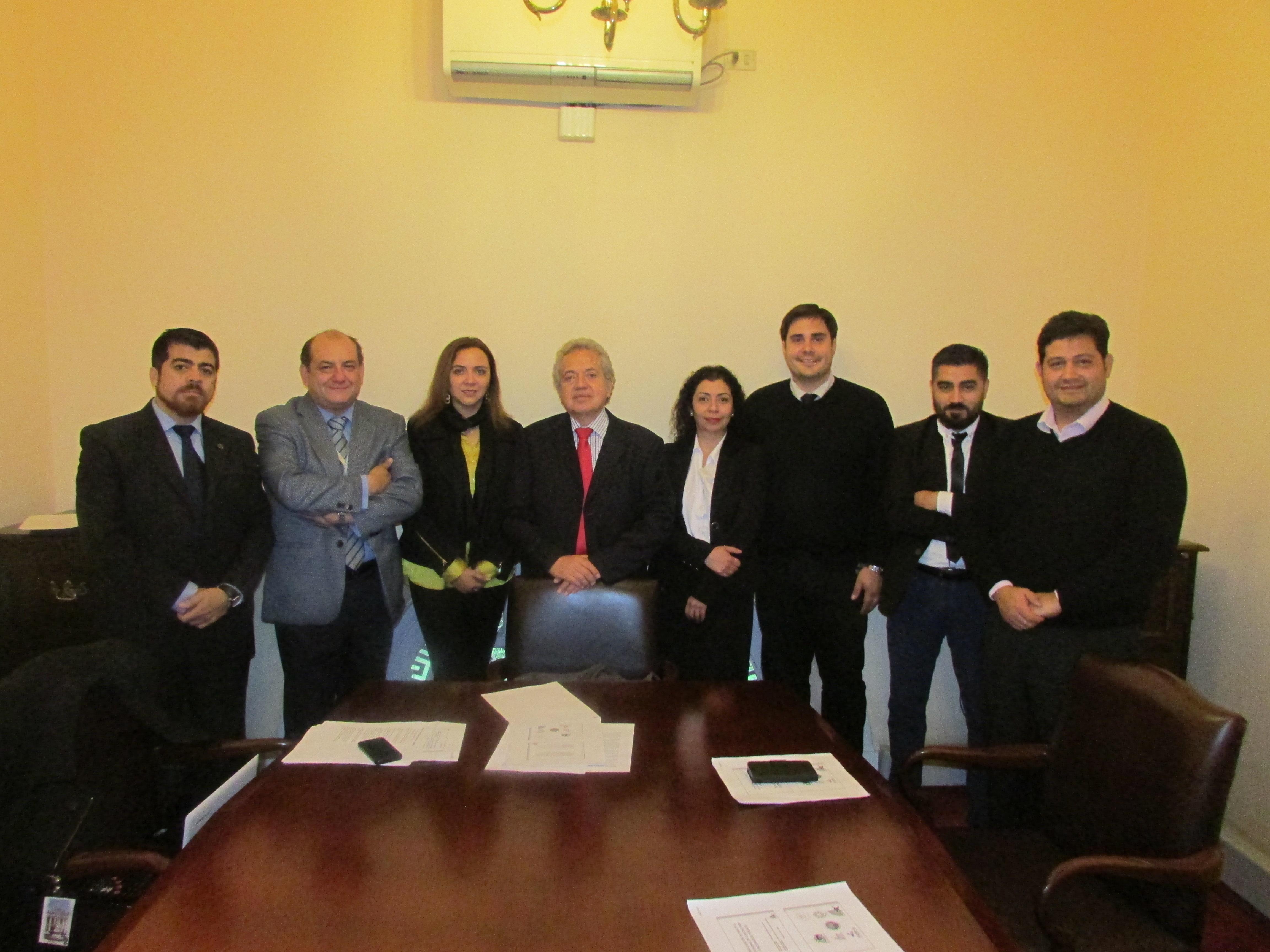 Afudep se reúne con Diputado Ceroni por proyecto Homologación Práctica Profesional - 08 Mayo 2017
