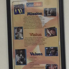Mission and values of  Citrus College