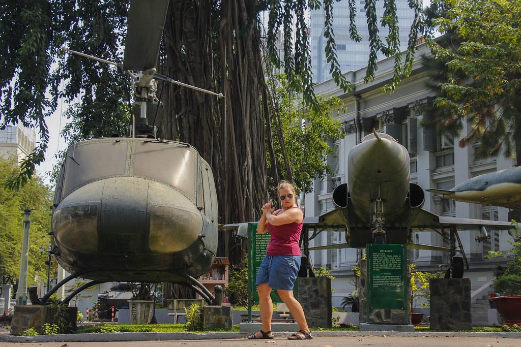 Independence Palace (Dinh Độc Lập), Ho Chi Minh City Museum og Krigsmuseet(Bảo tàng Chứng tích chiên tranh)