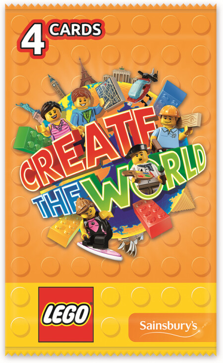 Karty LEGO Create The World 3