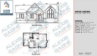 Plan de maison 1 étage - MM1e.10