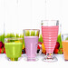 Small photo of Smoothies in a row