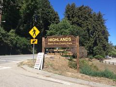 Highlands Santa Cruz County Park