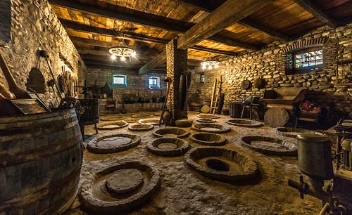 Une ancienne cave à vin