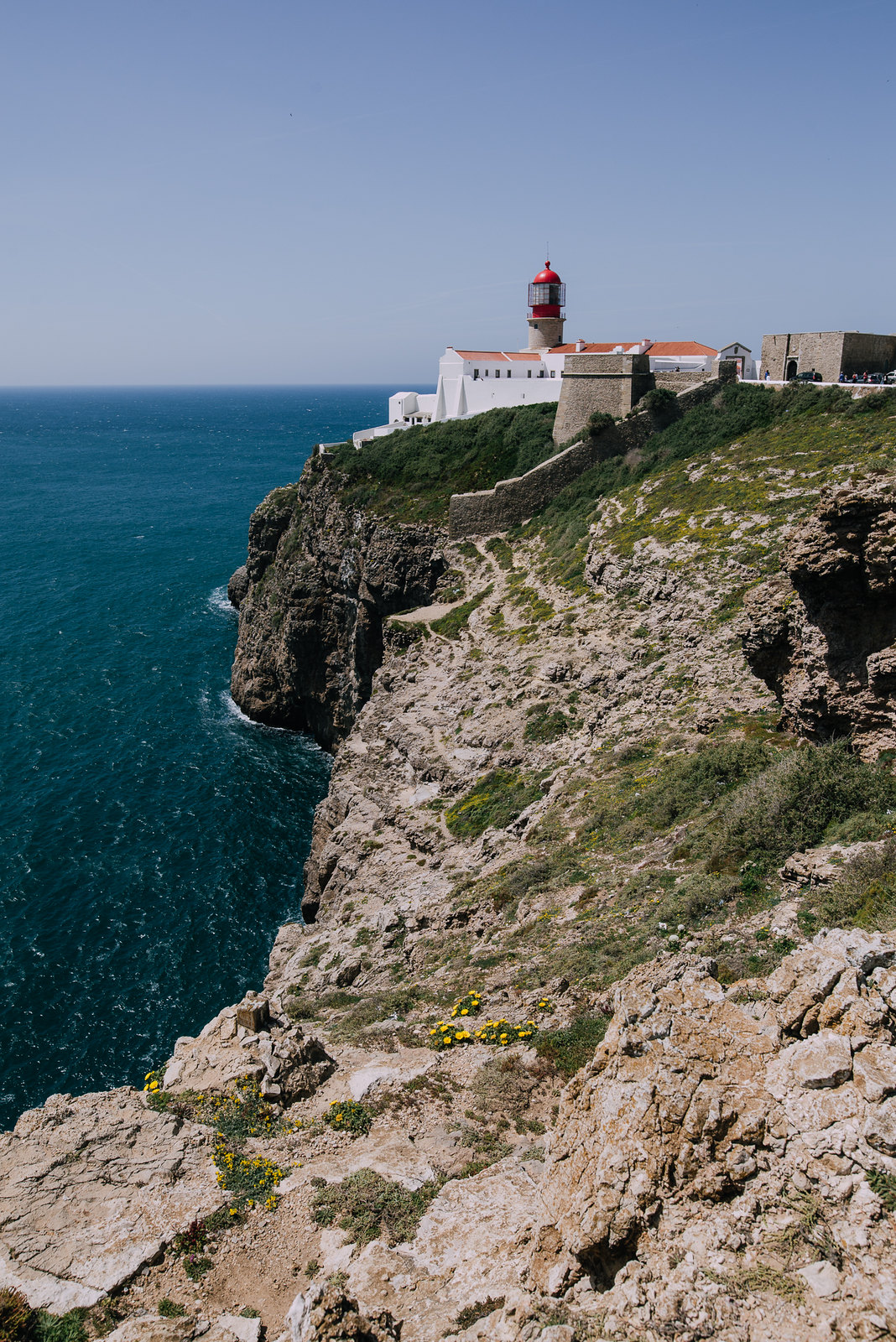 Cabo de Sao Vicente, azaz a Szent Vince-fok Sagres mellett
