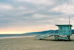 Santa Monica Life Guard Station