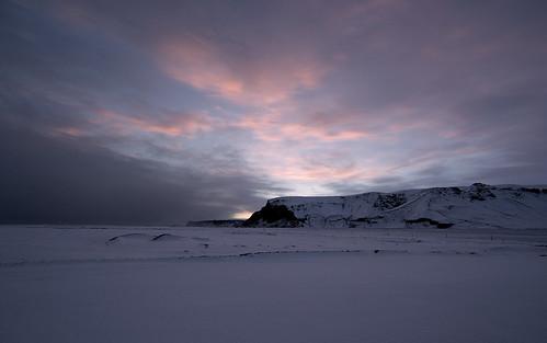 iceland arctic vik snow mountains landscape mcmanus winter