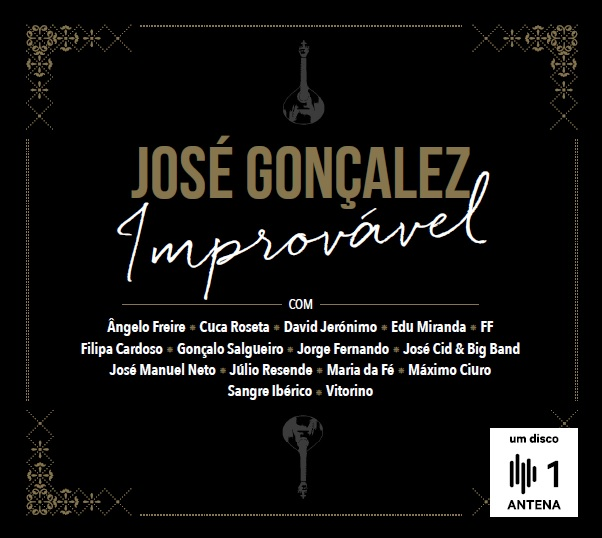 Jose Goncalez - capa disco Improvavel