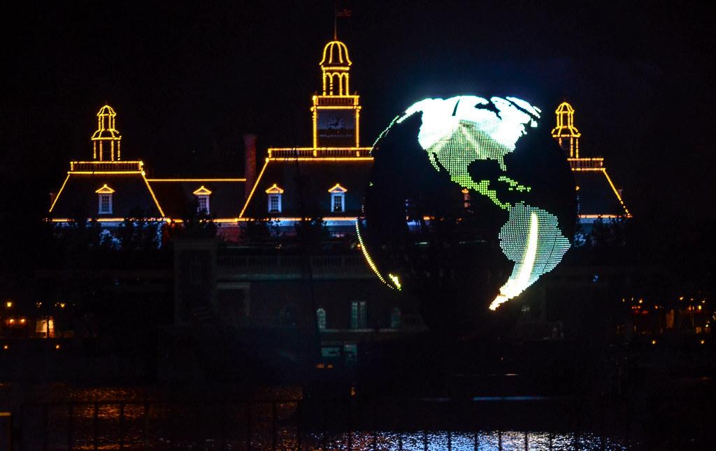 Epcot Illumination globe