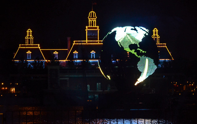 Epcot Illumination globe