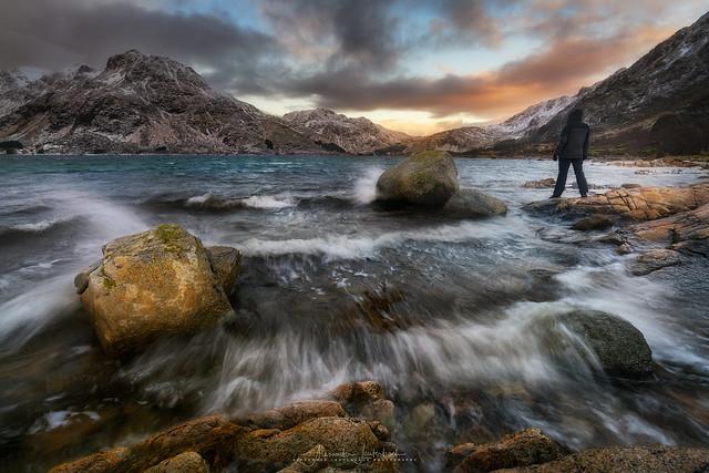 windy fjord