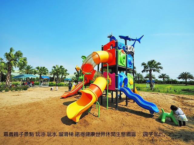 嘉義親子景點 玩沙 玩水 溜滑梯 諾得健康世界休閒生態園區 10