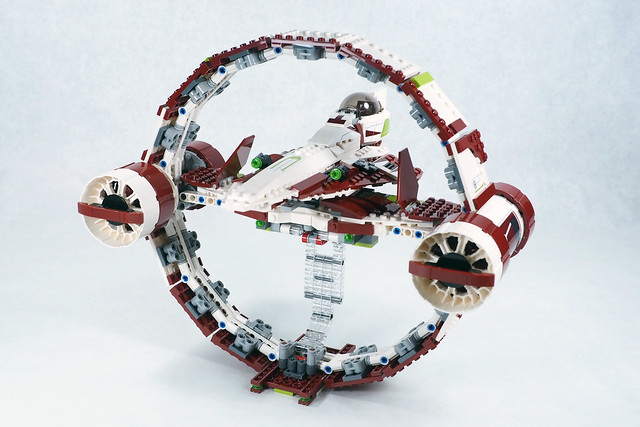 LEGO Jedi Starfighter with Hyperdrive