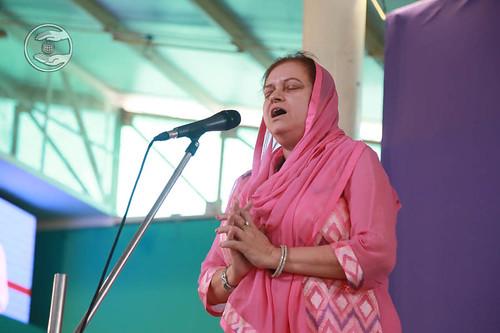 Devotional song by Sanjjula Chaudhary from Faridabad, Haryana