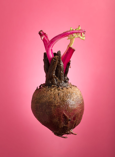 Heartbeet - A portrait of a beetroot.
