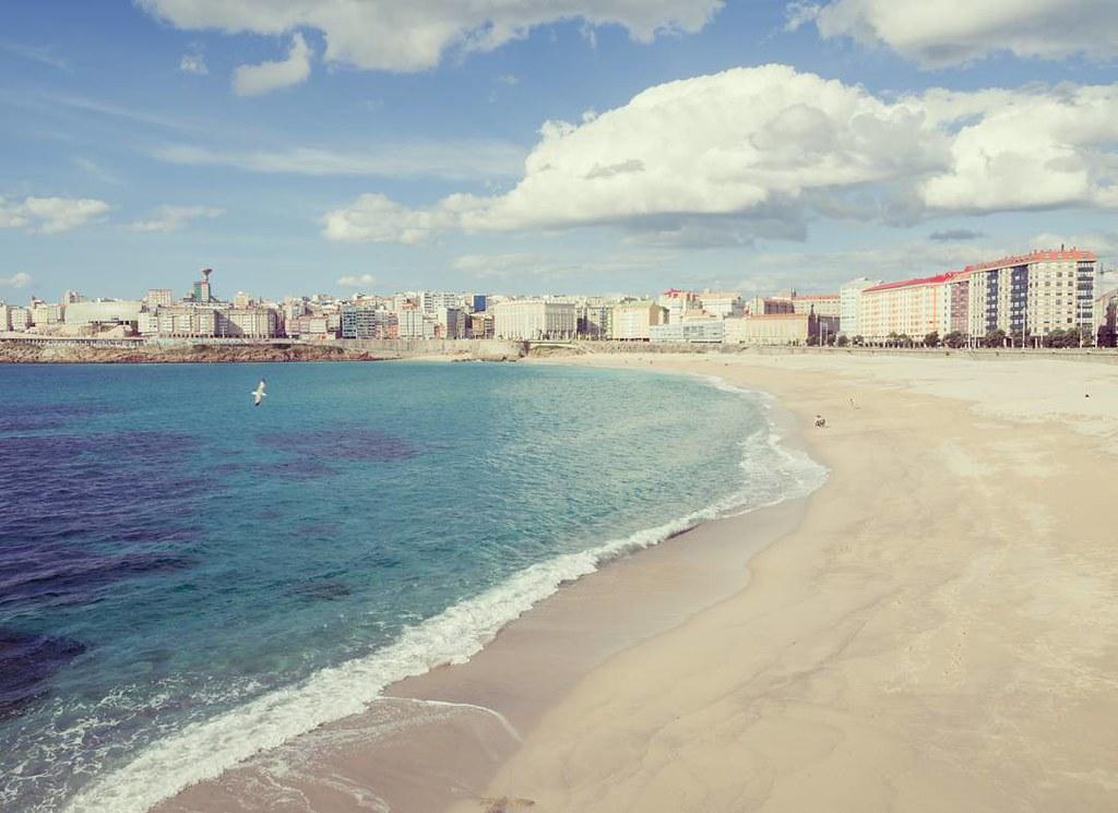Orzán colours. #orzán #orzánbeach #beach #Coruña #photography