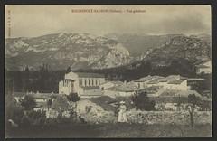 Rochefort-Sanson (Drôme) - Vue générale