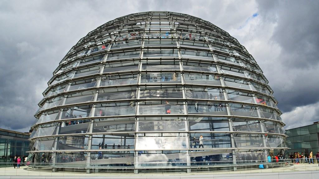 Reichstagskuppel | Die Kuppel auf der Dachterasse des ...  Reichstagskuppe...