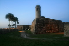 castillo de san marcos & fort matanzas