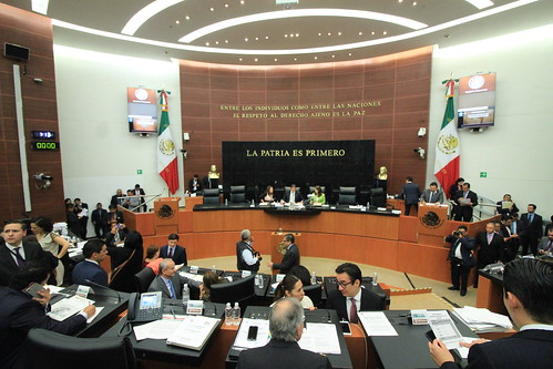 Sesión de la Comisión Permanente 17/may/17