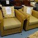 Cane framed armchair 2 in stock E80