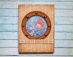 Under The Sea Card Series - The Little Mermaid - Water Shaker Card