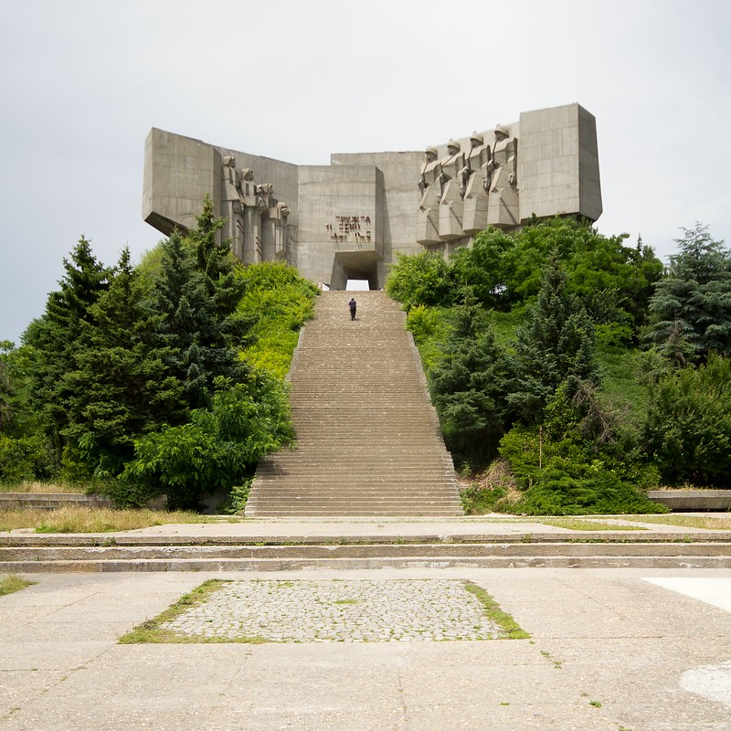 Monument of the Bulgarian-Soviet Friendship, Bulgaria 2016