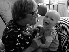 Maggie and granny