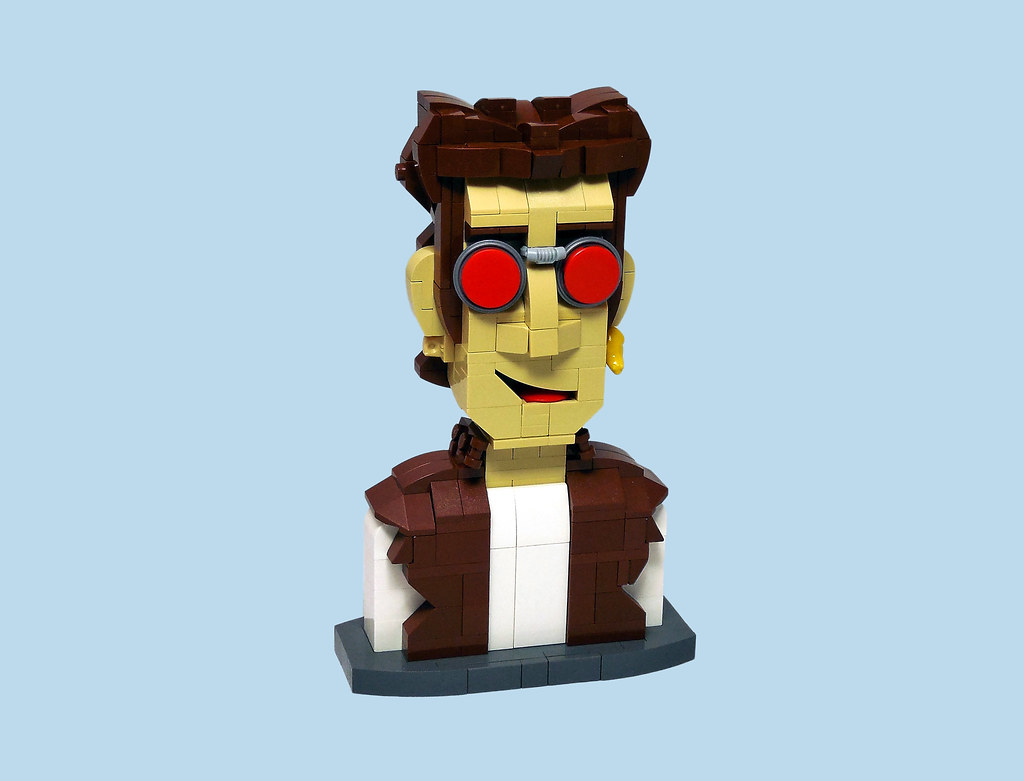 Proinsias Cassidy (custom built Lego model)