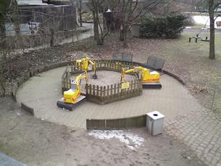 Spielen im Zoo