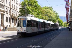 Tram Duewag&Vevey Be 4/6 818 + Be 4/8 846
