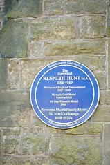 Photo of Kenneth Hunt blue plaque
