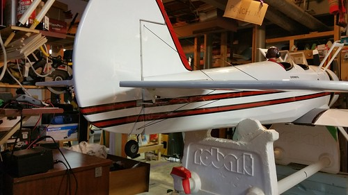 Empennage flying wires - rear 3/4