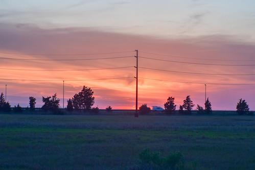 sunset newjersey marsh nj clouds