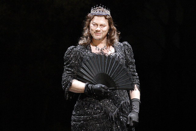 René Pape as Méphistophélès in Faust, The Royal Opera © ROH/Catherine Ashmore, 2011