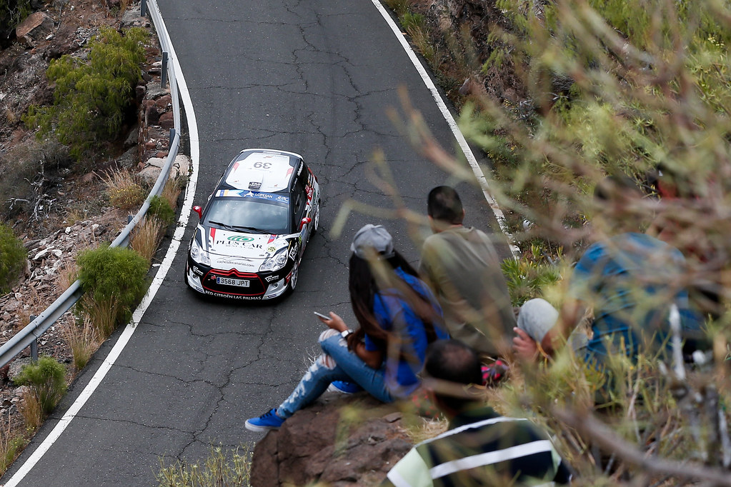 39 FALCON  RODRIGUEZ Emma (ESP),  FERNANDES PALAZUELOS Sara (ESP), CITROEN DS3 R3 during the 2017 European Rally Championship ERC Rally Islas Canarias, El Corte Inglés,  from May 4 to 6, at Las Palmas, Spain - Photo Alexandre Guillaumot / DPPI