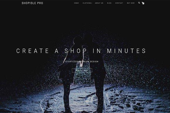 ShopIsle Pro v2.2.25 – Elegant eCommerce Theme