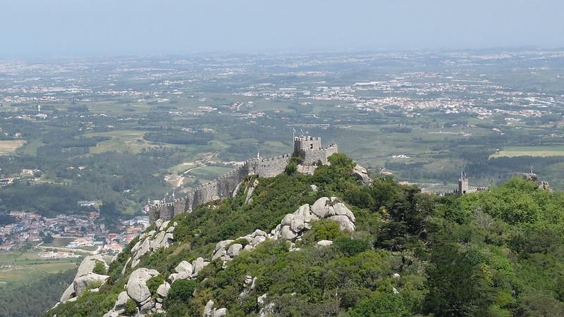 Vistas desde el Palacio da Pena