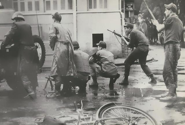 1966 Terrorist Attacks and Riots in SAIGON - Trụ sở CTy Điện Lực Saigon - Góc Hai Bà Trưng-Nguyễn Siêu