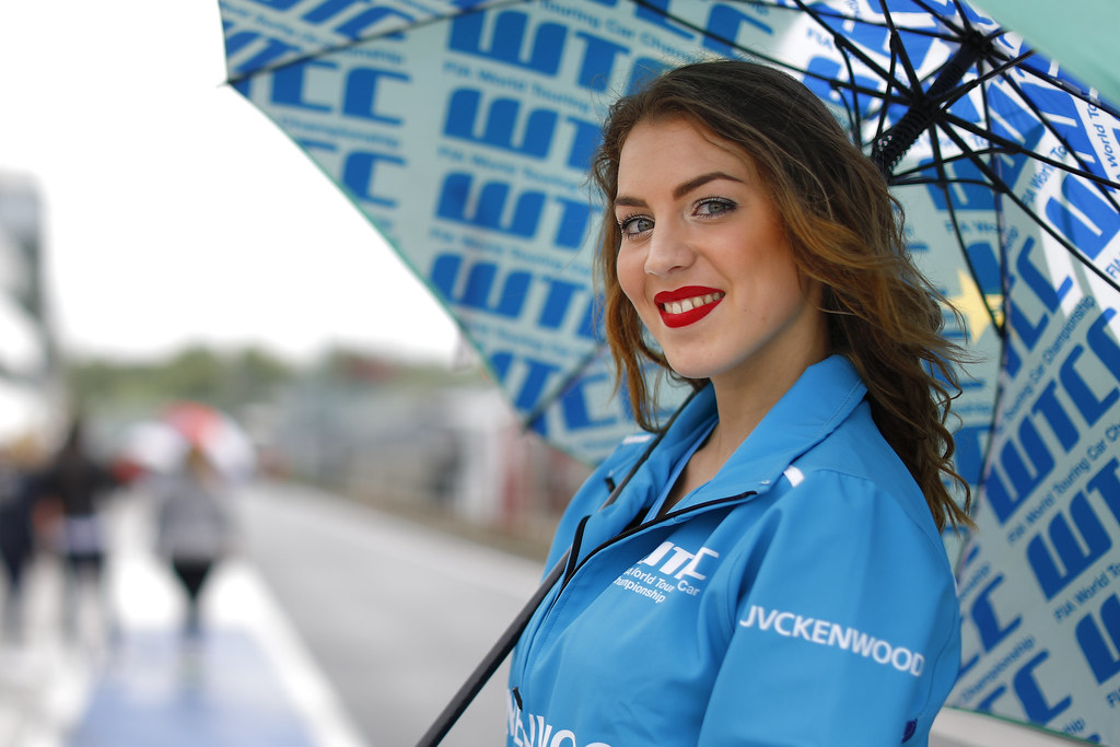 girl ambiance   during the 2017 FIA WTCC World Touring Car Race of Hungary at hungaroring, Budapest from may 12 to 14 - Photo Frederic Le Floc'h / DPPI