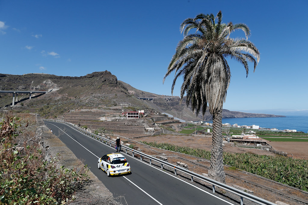 27 INGRAM Chris (GBR), EDMONDSON Elliot (GBR), Opel Adam R2, Action during the 2017 European Rally Championship ERC Rally Islas Canarias, El Corte Inglés,  from May 4 to 6, at Las Palmas, Spain - Photo Alexandre Guillaumot / DPPI