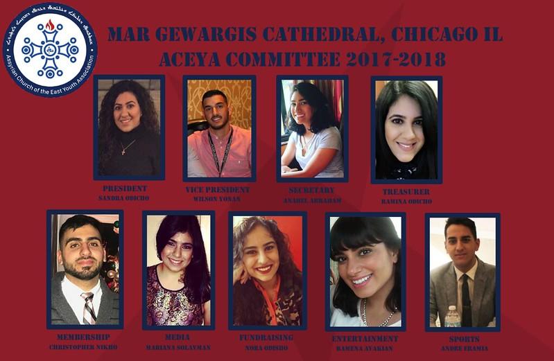 Mar Gewargis' Mar Gewargis' ACEYA Committee 2017-2018